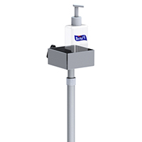 Pump Dispenser Telescopic Height Square Base